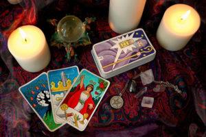 Гадание на 4 картах на ближайшее будущее в любви